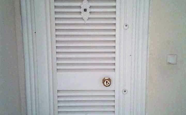 Panjur Kapı (Daire giriş emniyet kapısı)